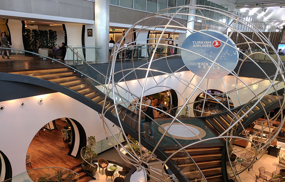 Turkish Airlines Business Class Lounge, Istanbul